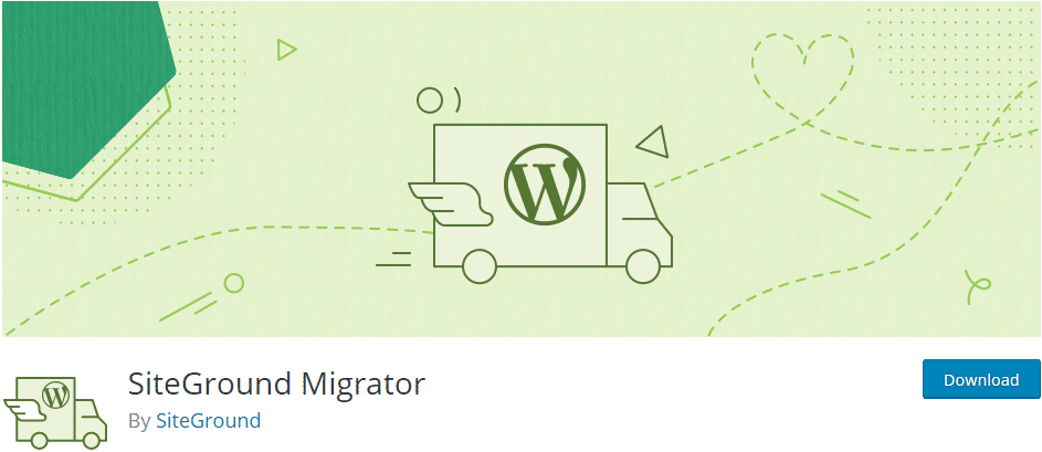 siteground review | migrator plugging
