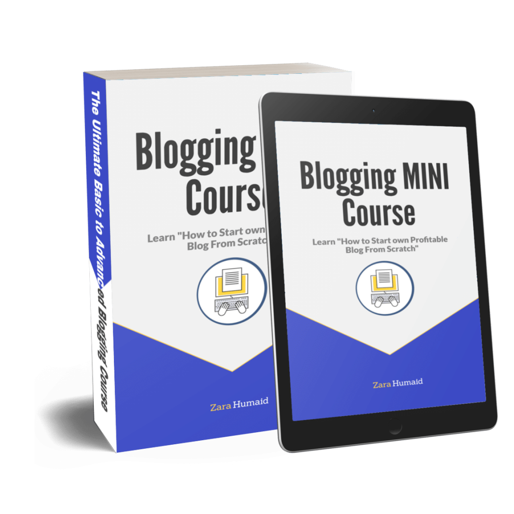 blogging mini course